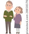 老人 夫妇 一对 28658376