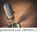 retro microphone table 28658411