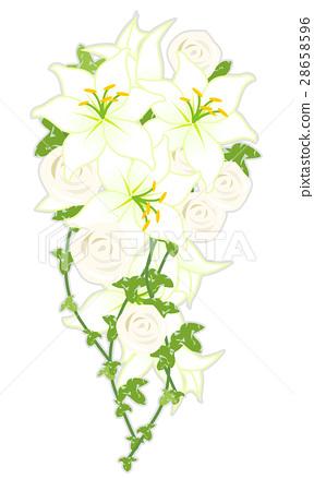casket flowers, bouquet, bouquets 28658596