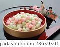 中國米餅 洋娃娃節甜米粉蛋糕 甜點 28659501