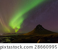 aurora, mountain, sky 28660995
