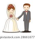 wedding, bride, groom 28661677