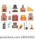 fire, fireplace, flame 28663002