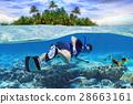 snorkeling, snorkel, sea 28663161