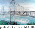 onaruto bridge, whirlpool, whirling current 28664606