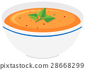 bowl, pumpkin, soup 28668299