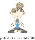 瑜伽 瑜珈 女生 28669006