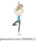 瑜伽 瑜珈 女生 28669011