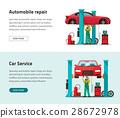 vehicle, automobile, garage 28672978