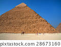 Pyramid of Khafre in Giza, Egypt 28673160