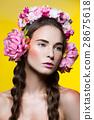 girl beautiful head 28675618