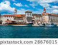 trogir, boat, boating 28676015