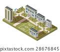 Student Quarter Isometric Landscape 28676845