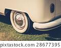 Retro classic car vintage style 28677395