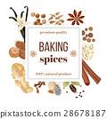 baking, banner, spice 28678187