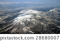 Zao Federation and Tsukiyama seen from an airplane 28680007
