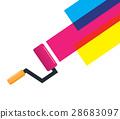 vector, color, painter 28683097