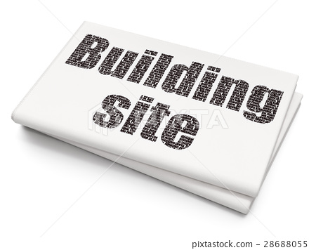 Constructing concept: Building Site on Blank 28688055
