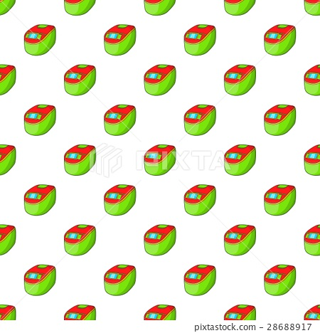 Slow cooker pattern, cartoon style 28688917
