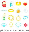 jewelry items icon 28689786