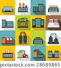 building, factory, icon 28689865