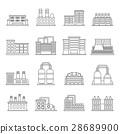 building, factory, icon 28689900