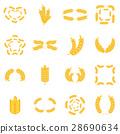 ear, icon, vector 28690634