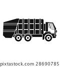 垃圾車 ICON 圖示 28690785