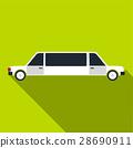 limousine, icon, vector 28690911
