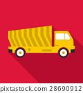 垃圾車 ICON 圖示 28690912