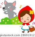 หนูน้อยหมวกแดงและหมาป่า 28691912