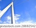 ท้องฟ้าเป็นสีฟ้า,สะพาน,โอซาก้า 28692542