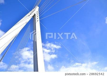 konohana bridge, gulf coast, hokko 28692542