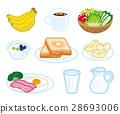 早餐 西餐 食物 28693006