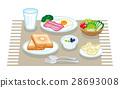 早餐 西餐 一套 28693008