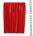 3d, closed, curtain 28694757