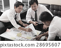 business team discussing idea and planning project 28695607