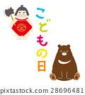 儿童节 一组 金太郎 28696481
