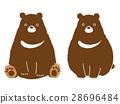 곰 일러스트 28696484