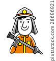 劳动人民,职业:消防员 28696921