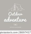 Outdoor adventure.Travel and adventure concept. 28697457