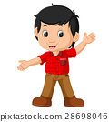 cute boy cartoon 28698046