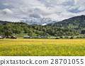 Spring landscape at Garmisch Partenkirchen 28701055