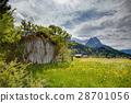 Spring landscape at Garmisch Partenkirchen 28701056