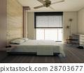 床 臥室 臥房 28703677