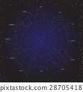 star horoscope zodiac circle in cosmos background 28705418
