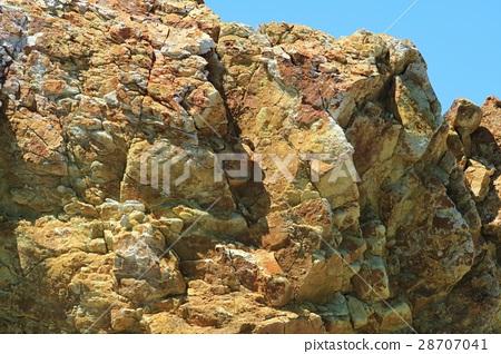 Transformed andesite propylite 28707041
