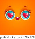 face cartoon vector 28707320