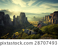 Meteora monasteries in Greece 28707493