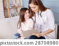 PLeasant lovign mother giving prescriptions to her 28708980